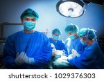 doctor and patient with mask... | Shutterstock . vector #1029376303