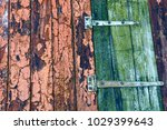 wood texture from colored fence ... | Shutterstock . vector #1029399643