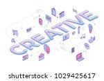 "flat design typography concept ""... | Shutterstock .eps vector #1029425617"