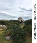 uxmal  mexico   january 30 ... | Shutterstock . vector #1029453847