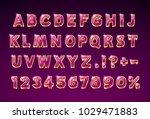 font glass lamp symbol  gold...   Shutterstock .eps vector #1029471883