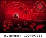 hud gui radar monitor screen....