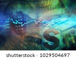 eschange data. finance concept. | Shutterstock . vector #1029504697