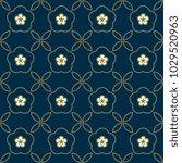 arabesque geometric simple... | Shutterstock .eps vector #1029520963