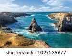 blue pacific water | Shutterstock . vector #1029539677