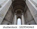 arc de triomphe  triumph arch  ...   Shutterstock . vector #1029543463