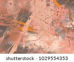 abstract painting. ink handmade ...   Shutterstock . vector #1029554353