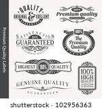 vector decorative ornamental... | Shutterstock .eps vector #102956363