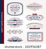 vector decorative ornamental... | Shutterstock .eps vector #102956387