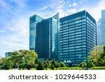 urban architectural landscape...   Shutterstock . vector #1029644533