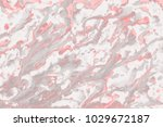 red wet abstract paint leaks... | Shutterstock . vector #1029672187
