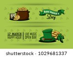 st patricks cartoons banners