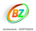 initial letter bz logotype...