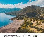 beautiful aerial landscape of...   Shutterstock . vector #1029708013