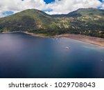 beautiful aerial landscape of...   Shutterstock . vector #1029708043