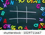 abstract tic tac toe game...   Shutterstock . vector #1029711667