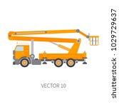 color flat vector icon... | Shutterstock .eps vector #1029729637