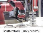industry 4.0 robot concept .the ... | Shutterstock . vector #1029734893