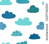 beautiful seamless pattern of... | Shutterstock .eps vector #1029740203