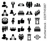 community icons. set of 25...   Shutterstock .eps vector #1029745387