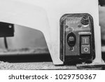 the power button of the machine | Shutterstock . vector #1029750367