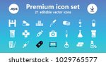 pharmacy icons. set of 21... | Shutterstock .eps vector #1029765577