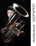 Tuba Brass Instrument....