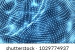 abstract science or technology... | Shutterstock .eps vector #1029774937