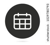 calendar vector icon....   Shutterstock .eps vector #1029780793