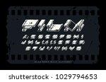 decorative extra bulk extended...   Shutterstock .eps vector #1029794653