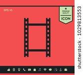 camera roll  photographic film  ...   Shutterstock .eps vector #1029813553