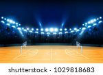basketball arena field with... | Shutterstock .eps vector #1029818683