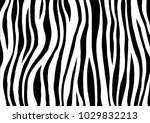 zebra print  animal skin  tiger ... | Shutterstock .eps vector #1029832213