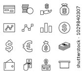 flat vector icon set   credit... | Shutterstock .eps vector #1029840307