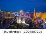 las vegas  usa   january 02 ... | Shutterstock . vector #1029857203