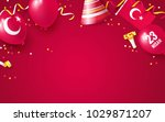 23 april national sovereignty...   Shutterstock .eps vector #1029871207