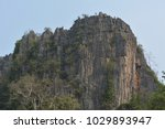 old  stone  mountain  in  the ... | Shutterstock . vector #1029893947