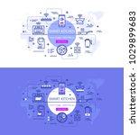 vector illustration of banners...   Shutterstock .eps vector #1029899683