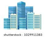 city center   high skyscrapers  ... | Shutterstock . vector #1029911383