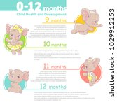set of baby health and...   Shutterstock .eps vector #1029912253