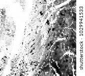 grunge halftone dots pattern...   Shutterstock .eps vector #1029941533