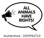 all animals have rights... | Shutterstock .eps vector #1029962713