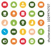 devices icons set | Shutterstock .eps vector #1029974707