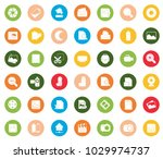 photography icons set | Shutterstock .eps vector #1029974737