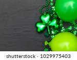 st patrick's day background... | Shutterstock . vector #1029975403