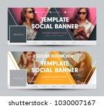 design of a cover for social...   Shutterstock .eps vector #1030007167