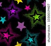 grunge seamless pattern for...   Shutterstock .eps vector #1030019407