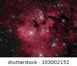 Cederblad 214 nebula - stock photo