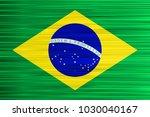 vector concept of brazilian... | Shutterstock .eps vector #1030040167