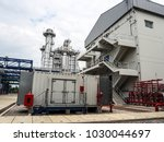 emergency diesel generator in... | Shutterstock . vector #1030044697